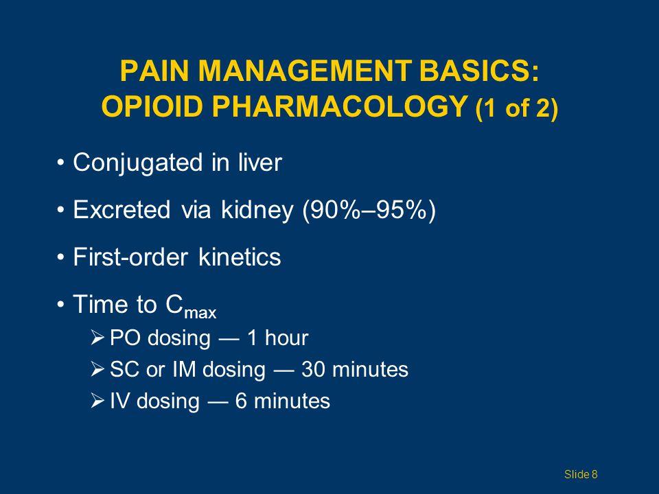 Pain Management Basics: Opioid pharmacology (1 of 2)