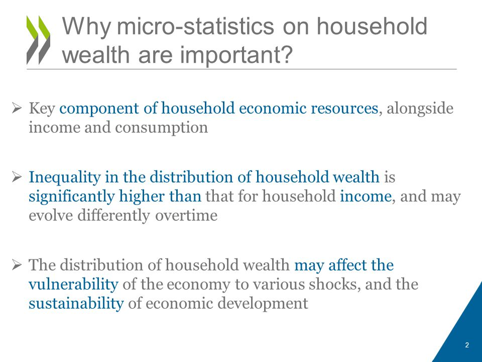 Why micro-statistics on household wealth are important