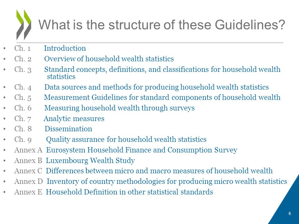 What is the structure of these Guidelines