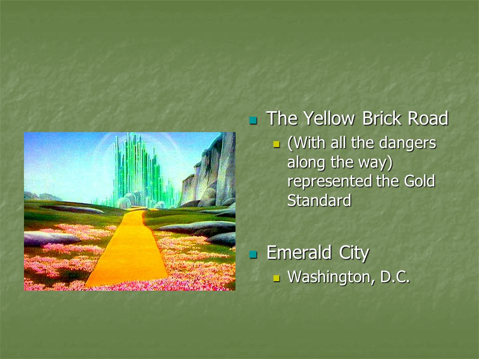 The Yellow Brick Road Emerald City