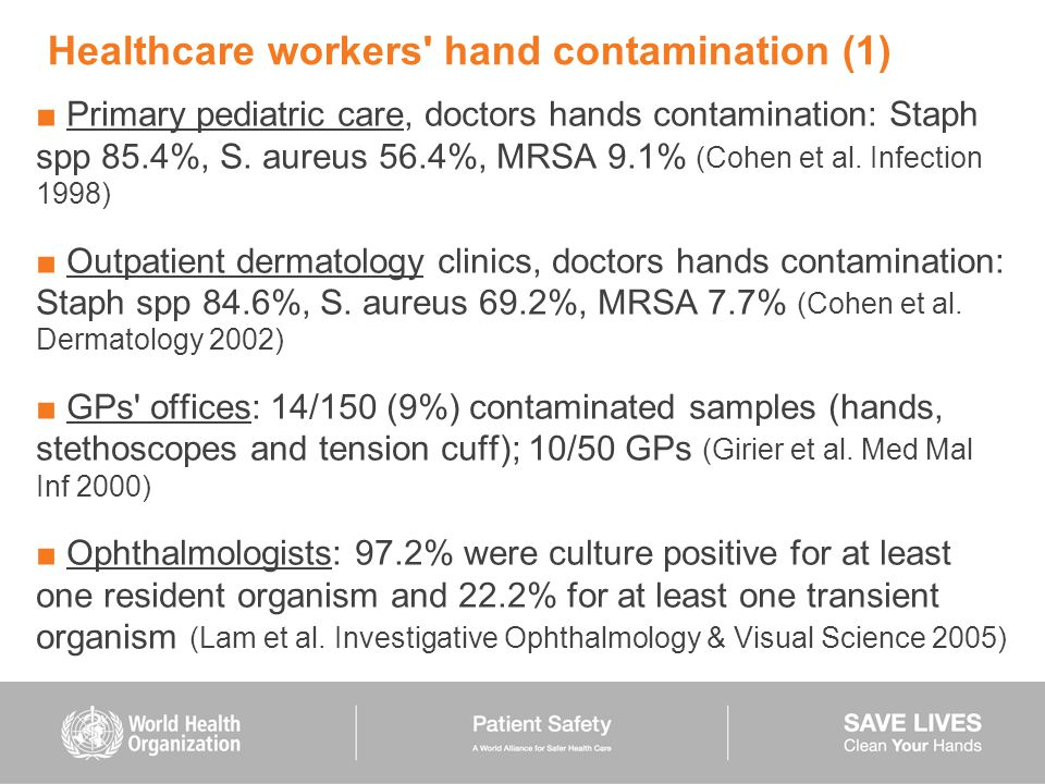 Healthcare workers hand contamination (1)