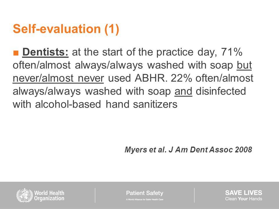 Self-evaluation (1)