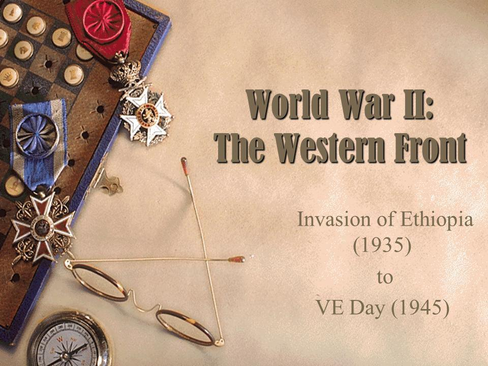 World War II: The Western Front