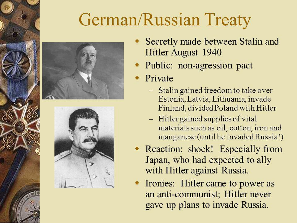 German/Russian Treaty