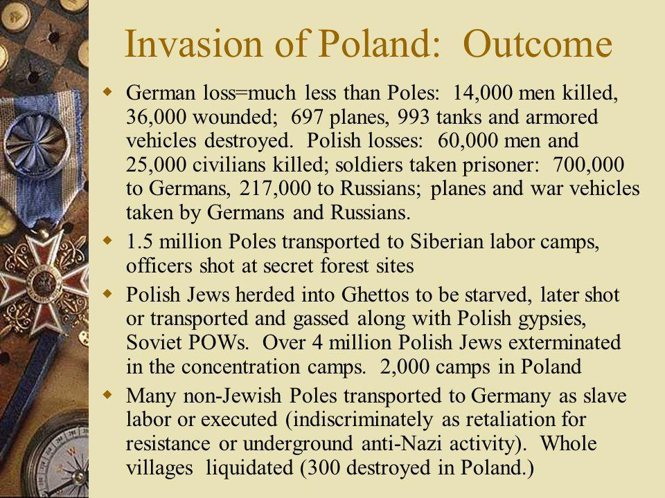Invasion of Poland: Outcome