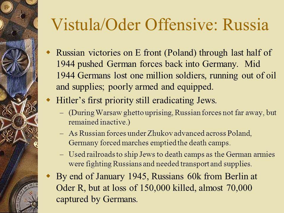 Vistula/Oder Offensive: Russia