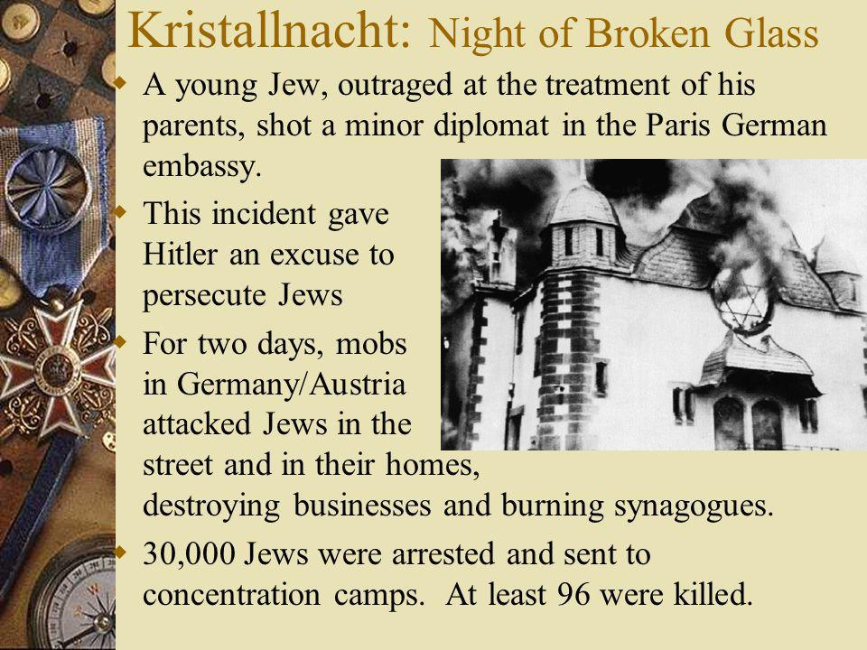 Kristallnacht: Night of Broken Glass
