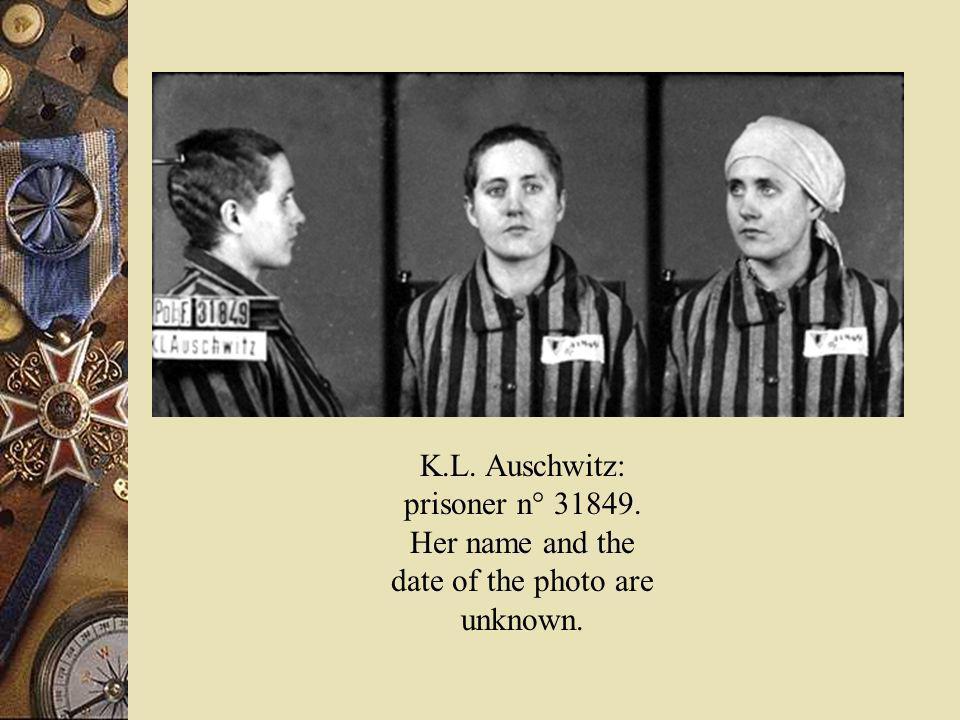 K. L. Auschwitz: prisoner n° 31849