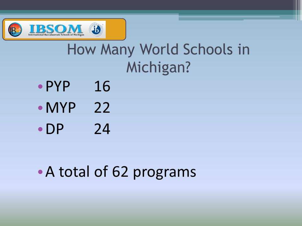 How Many World Schools in Michigan