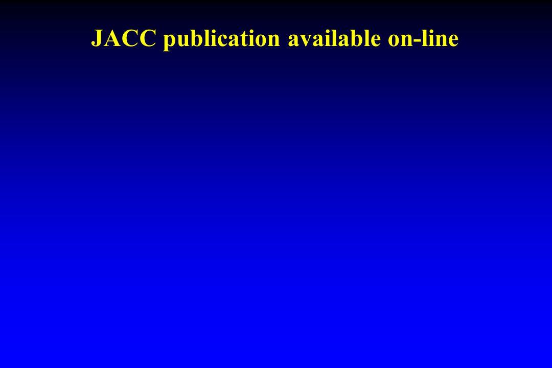 JACC publication available on-line