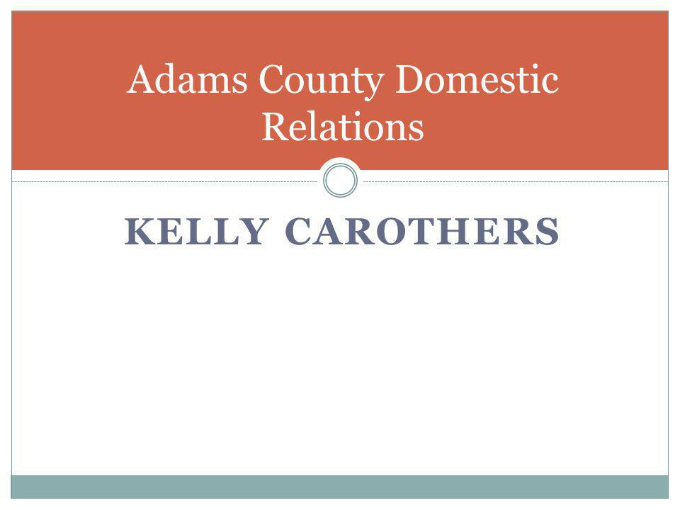 Adams County Domestic Relations