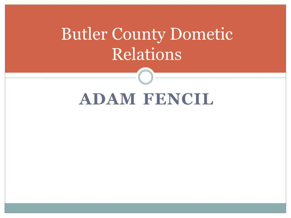 Butler County Dometic Relations