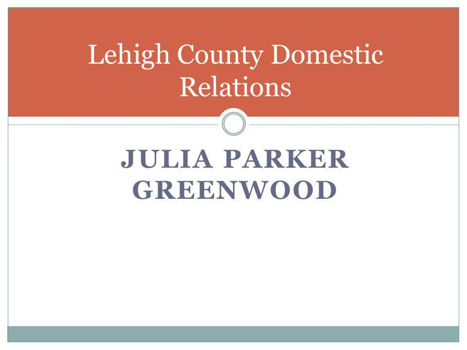 Lehigh County Domestic Relations