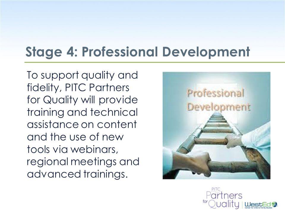 Stage 4: Professional Development