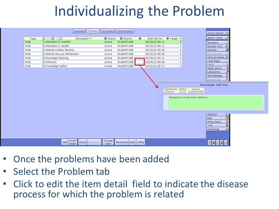 Individualizing the Problem