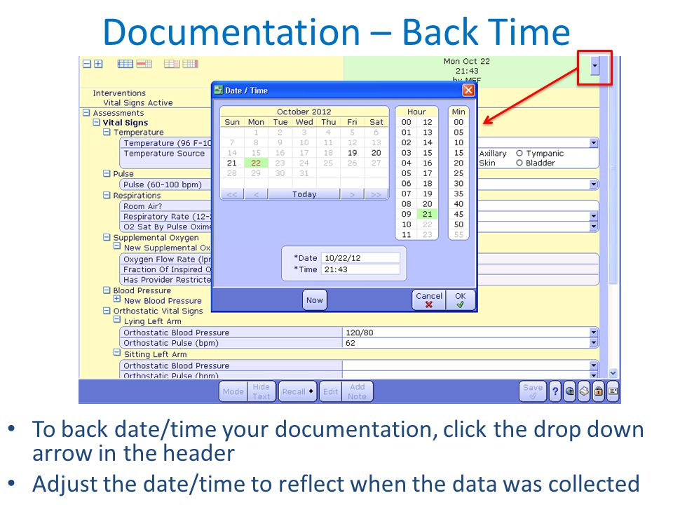 Documentation – Back Time