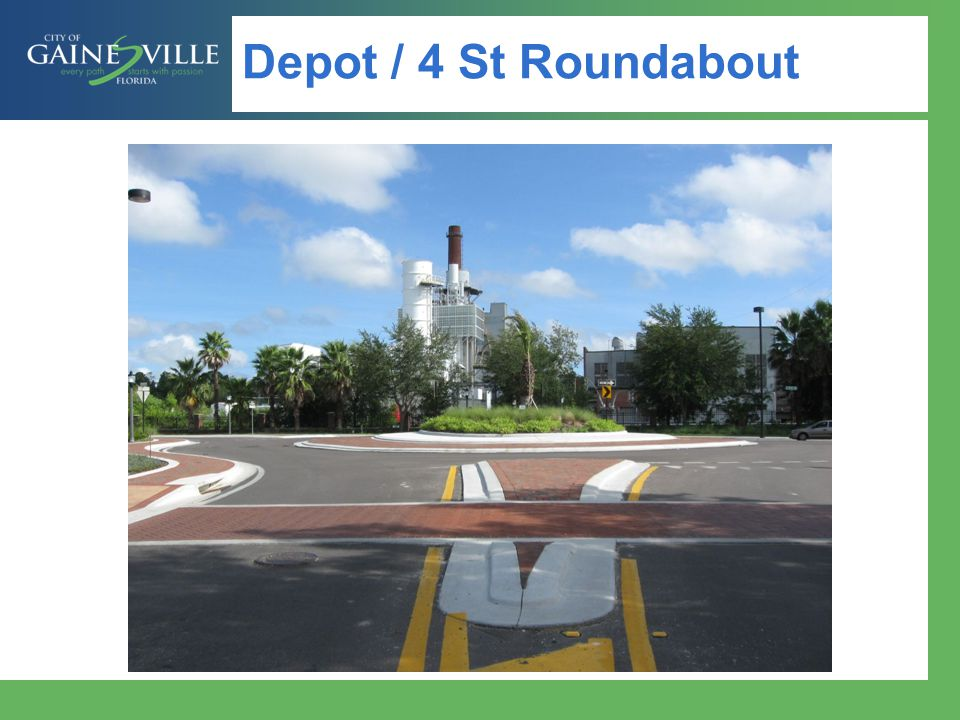 Depot / 4 St Roundabout