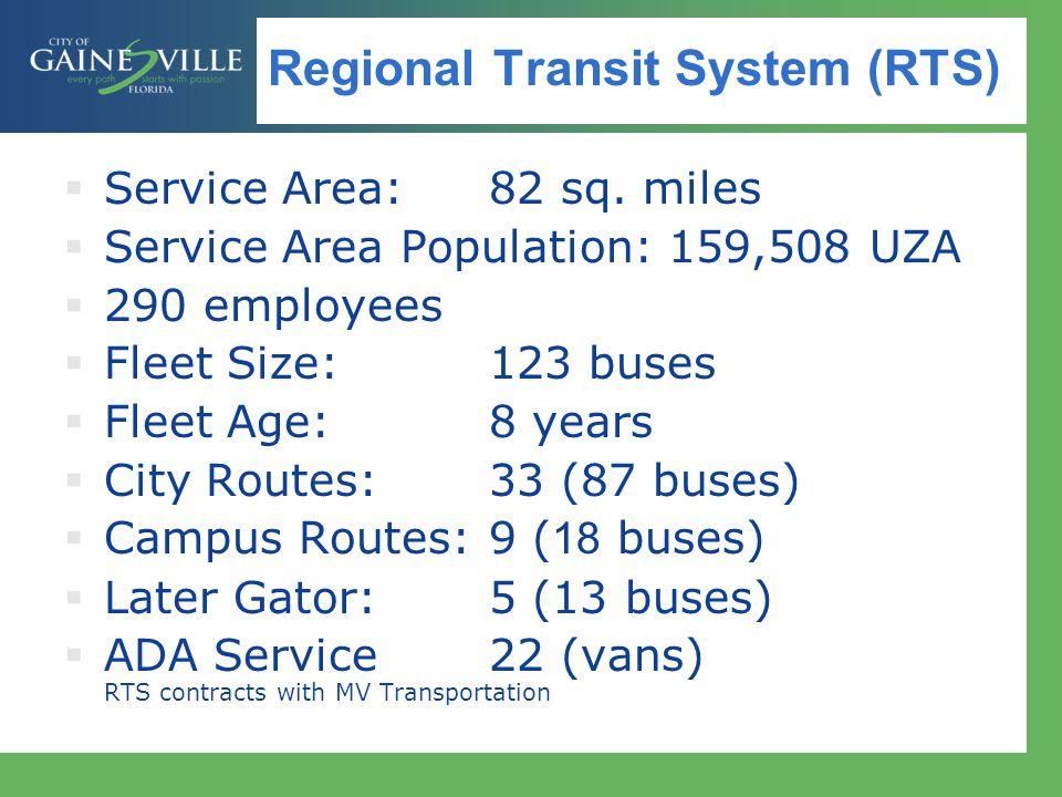 Regional Transit System (RTS)