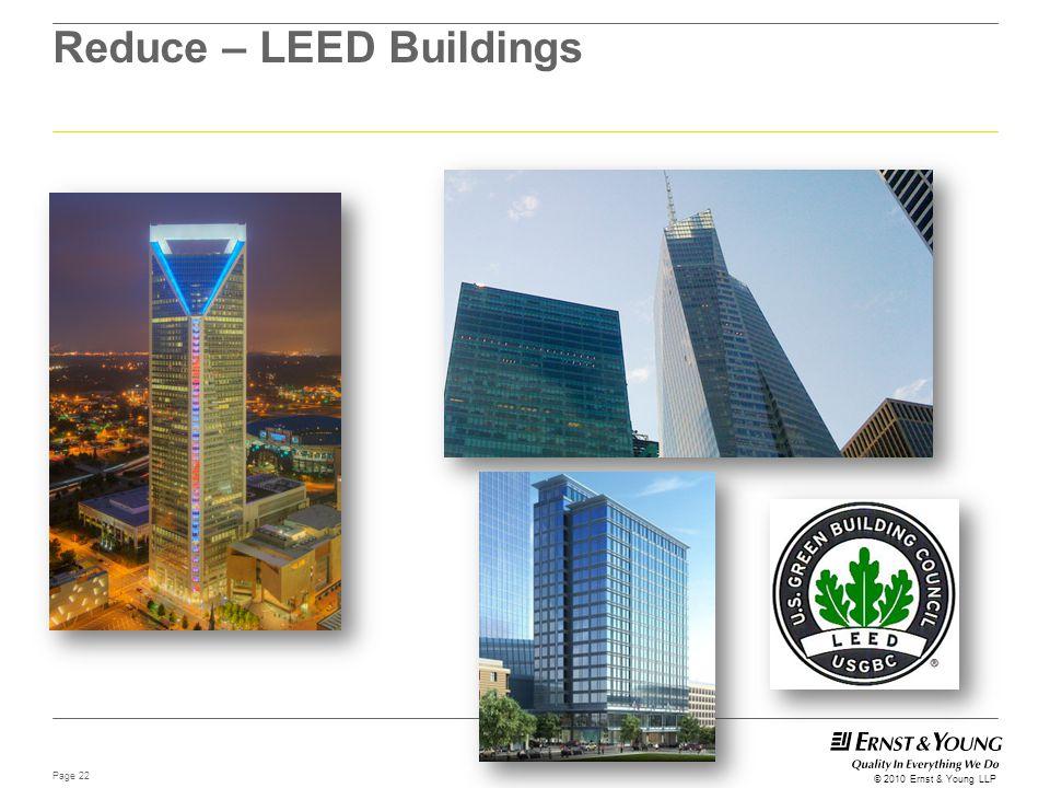 Reduce – LEED Buildings