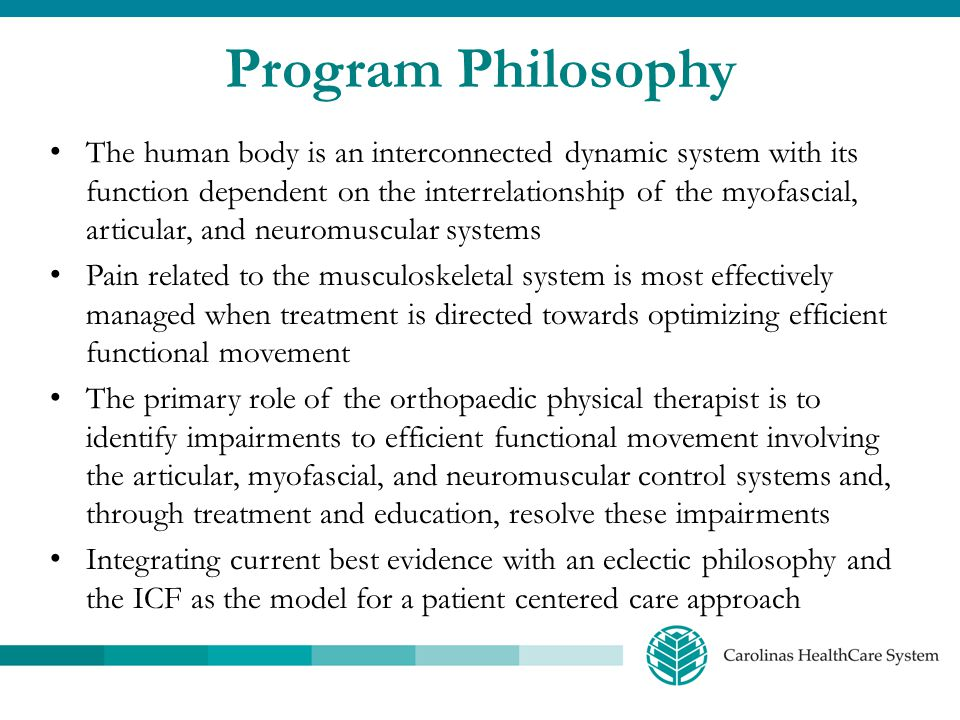 Program Philosophy