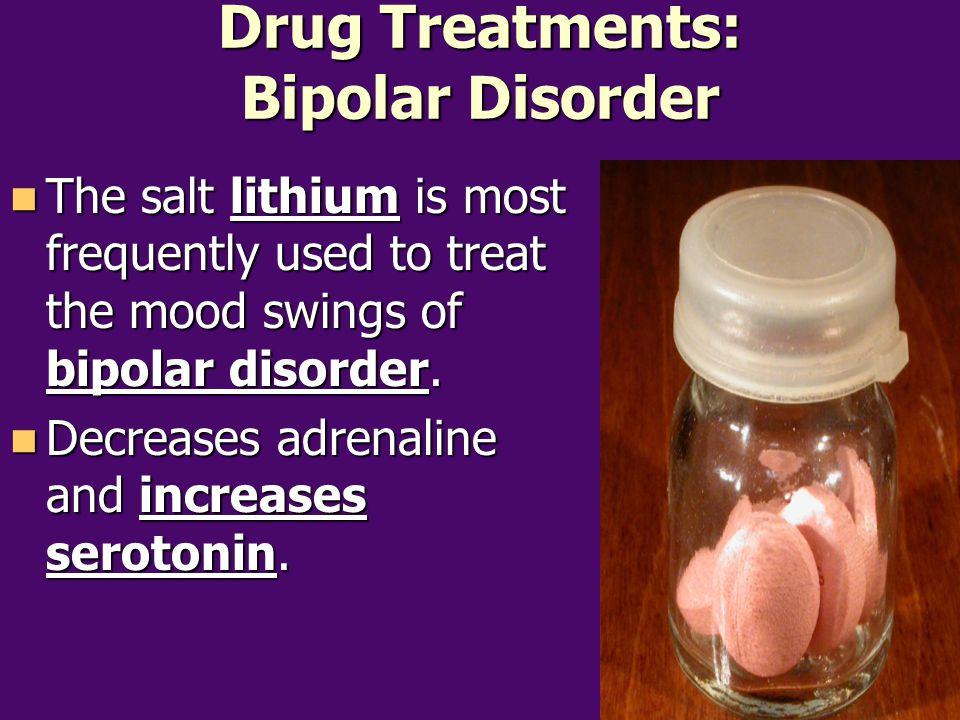 Drug Treatments: Bipolar Disorder