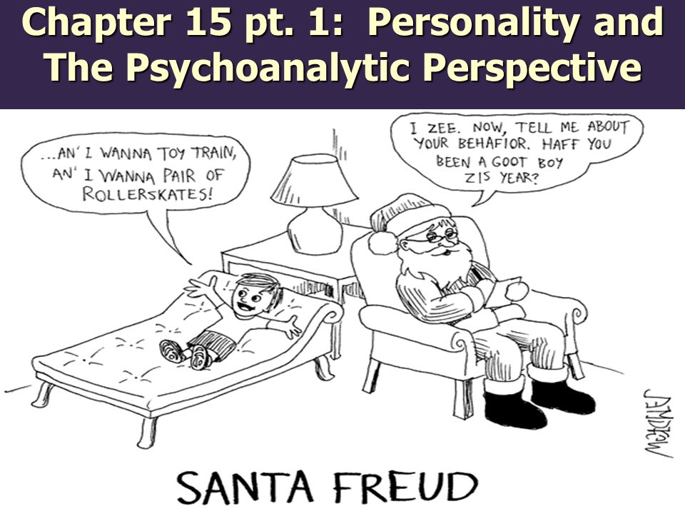 Chapter 15 pt. 1: Personality and The Psychoanalytic Perspective
