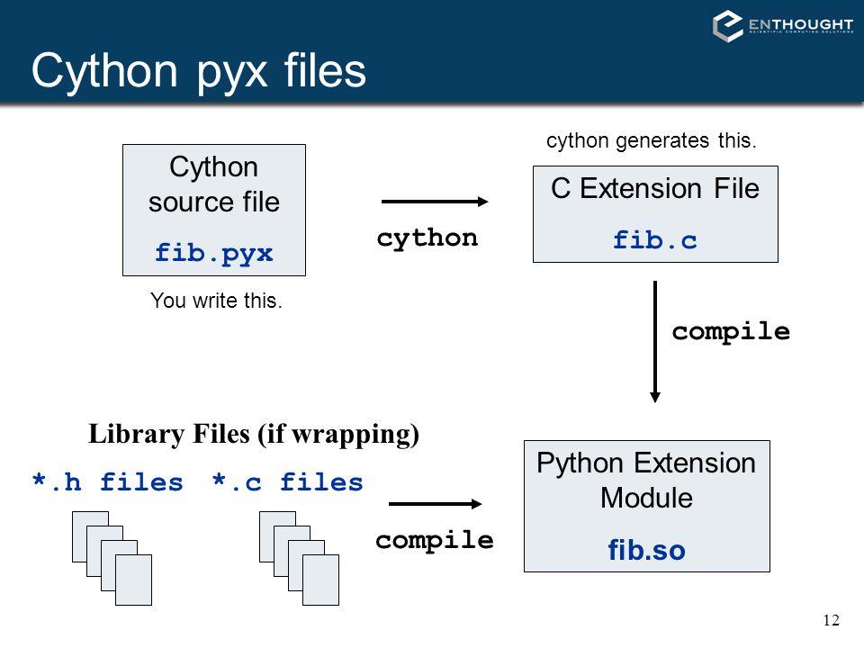 Python Extension Module