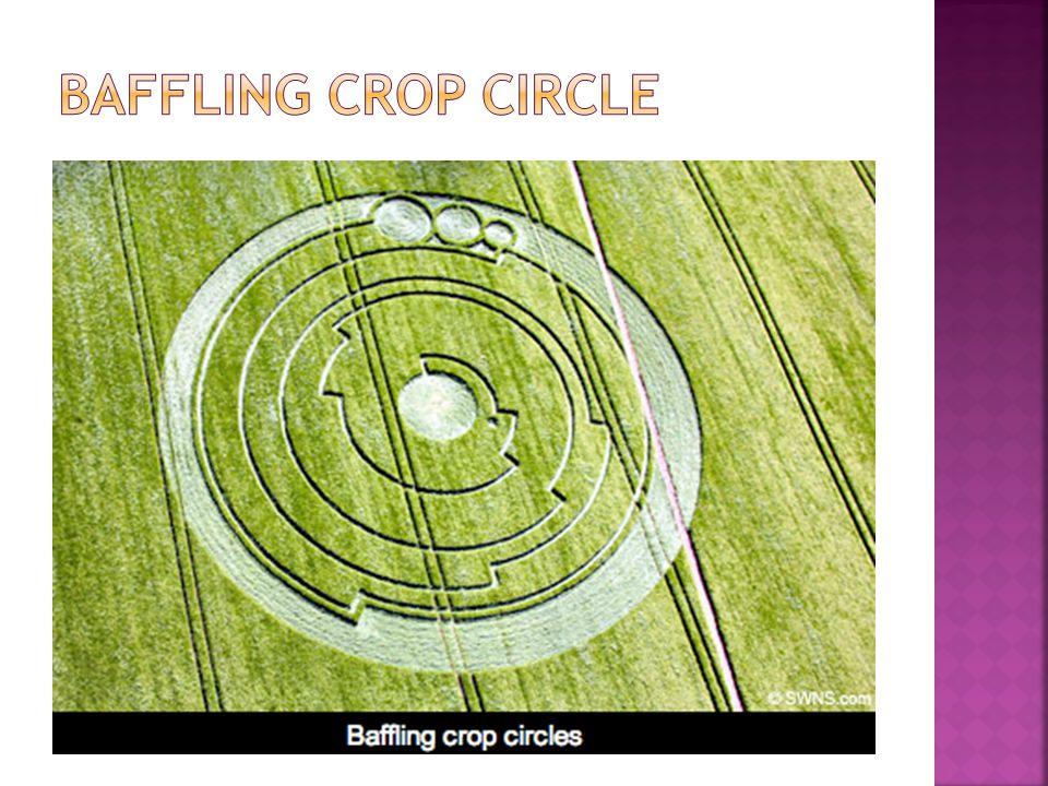 Baffling crop circle