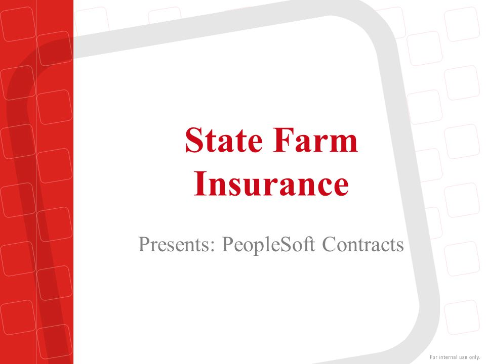 Presents: PeopleSoft Contracts