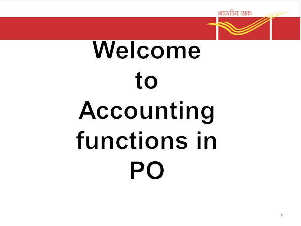 Accounting functions in PO