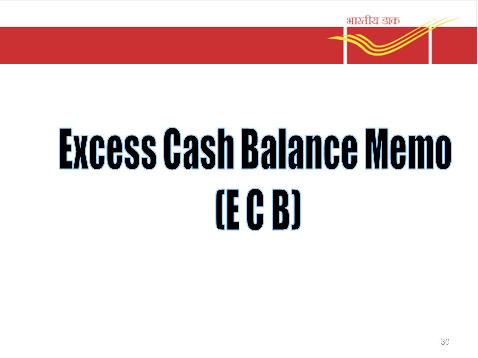 Excess Cash Balance Memo