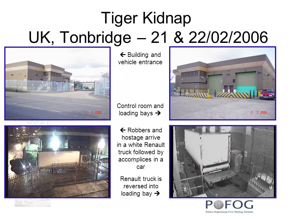 Tiger Kidnap UK, Tonbridge – 21 & 22/02/2006