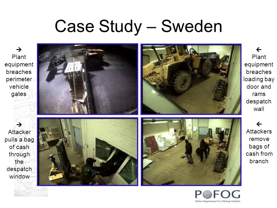 Case Study – Sweden   Plant Plant equipment equipment breaches