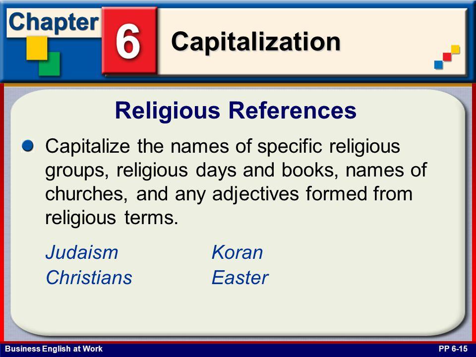 Religious References