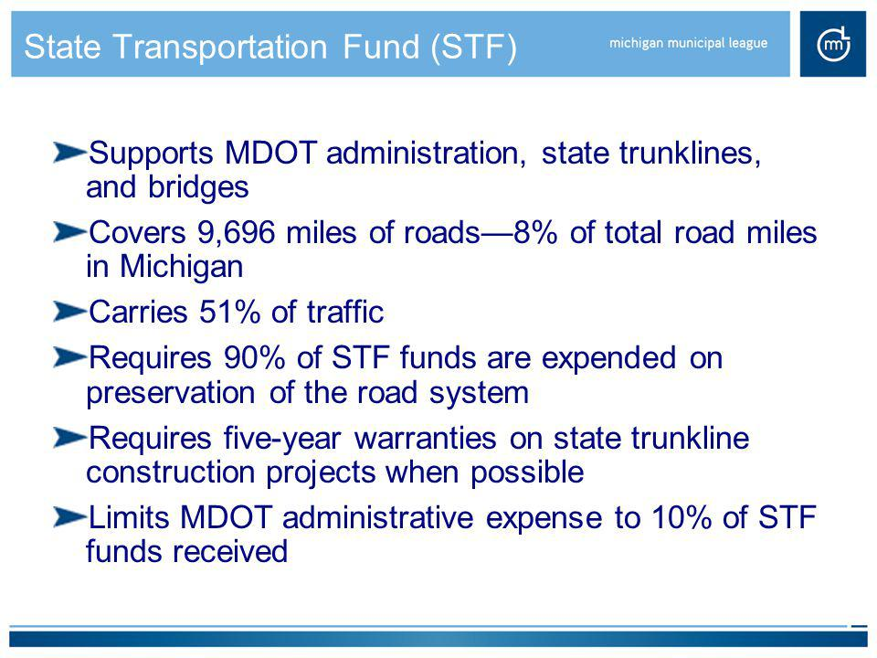 State Transportation Fund (STF)