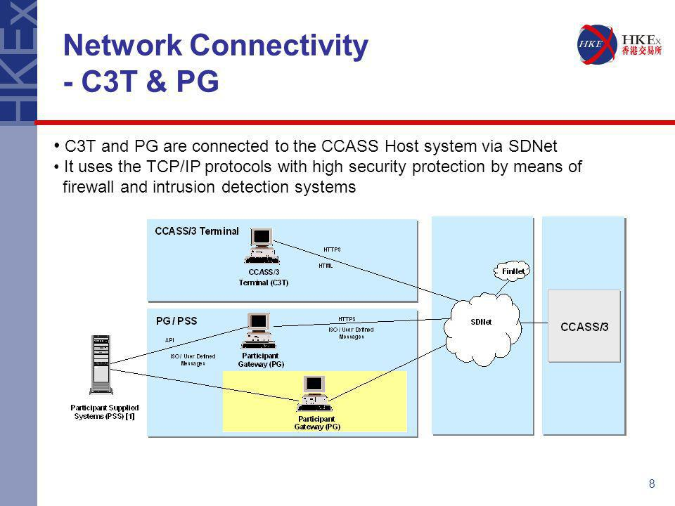 Network Connectivity - C3T & PG