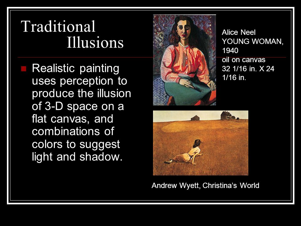Traditional Illusions