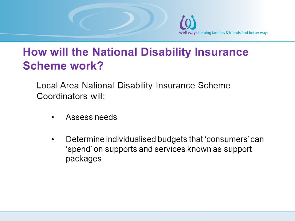 How will the National Disability Insurance Scheme work