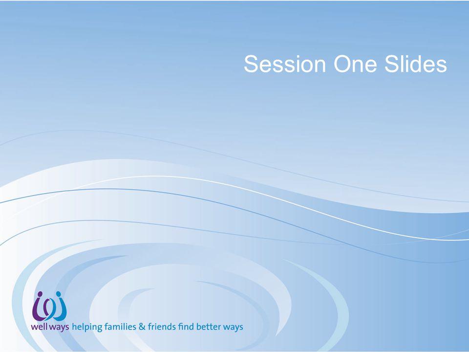 Session One Slides