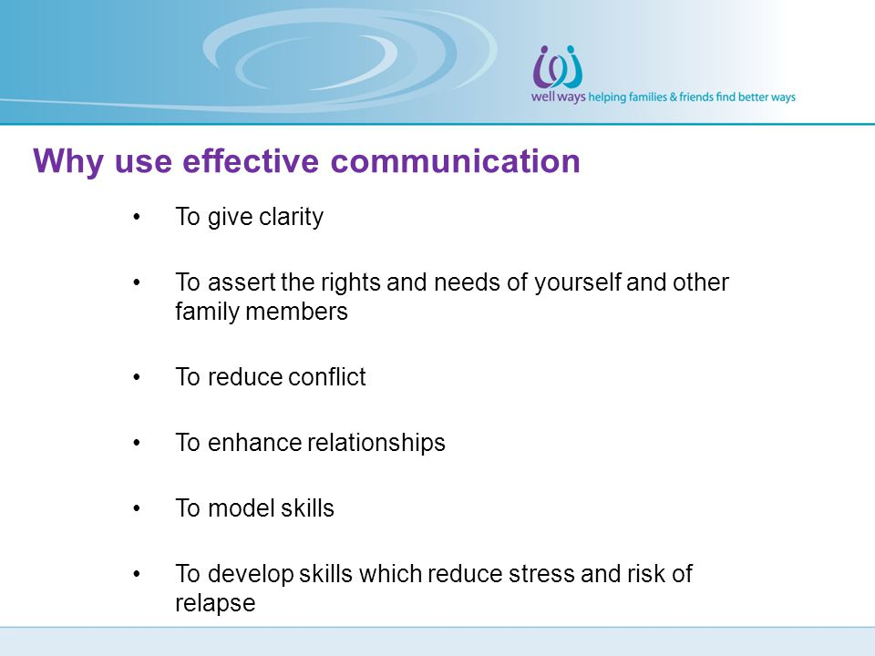 Why use effective communication