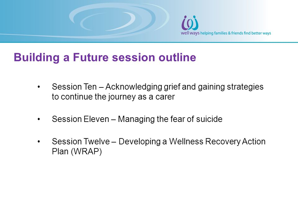Building a Future session outline