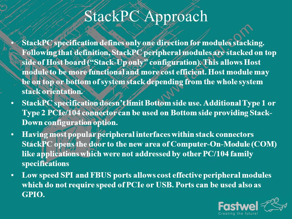 StackPC Approach