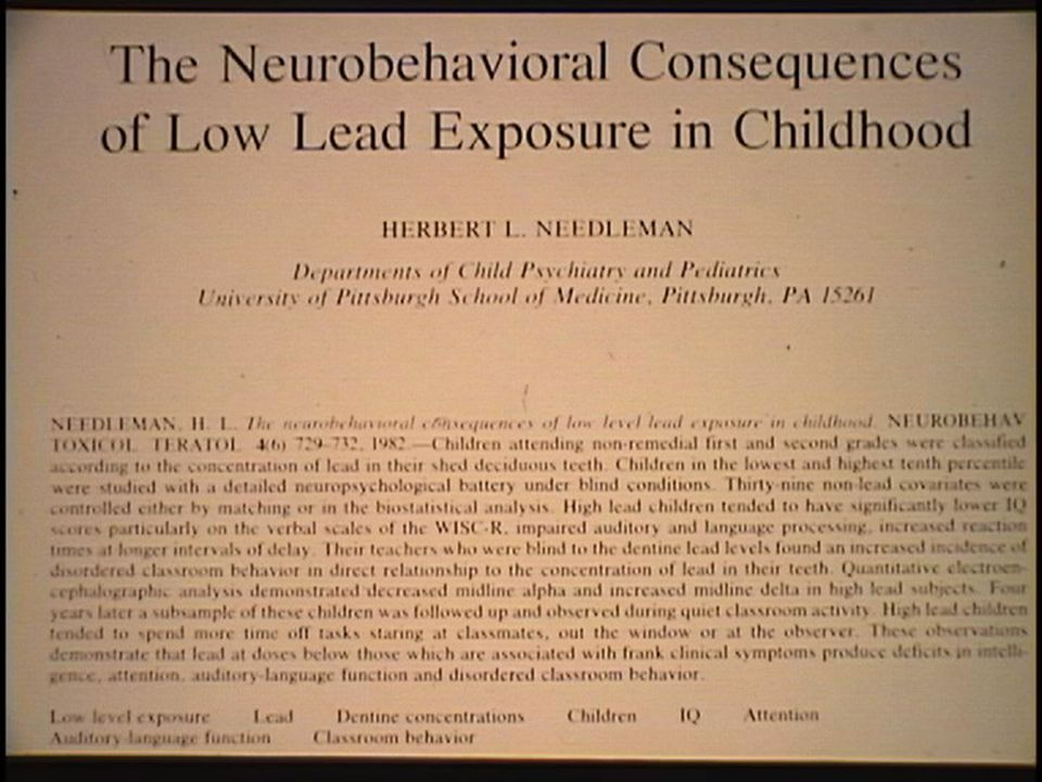 CNS Effects in Children