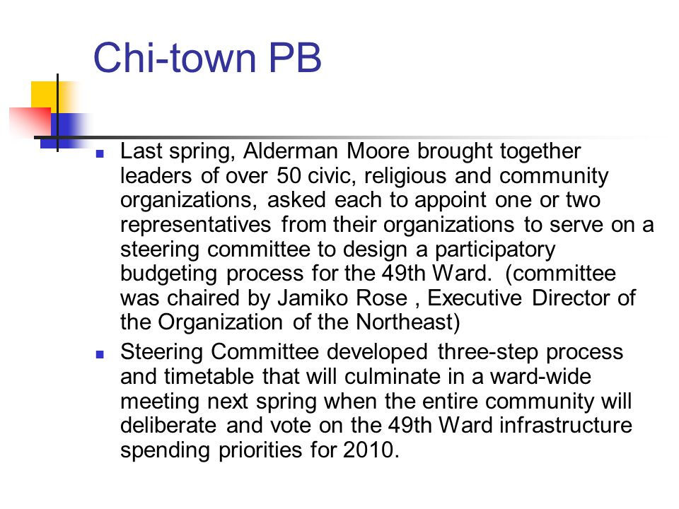 Chi-town PB