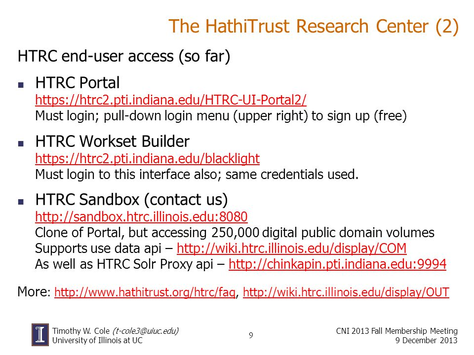 The HathiTrust Research Center (2)