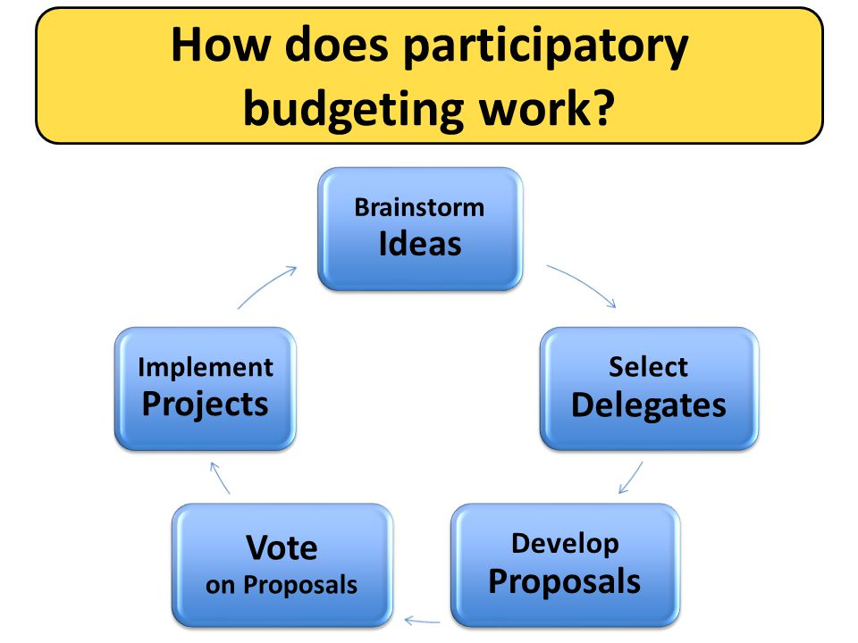 How does participatory budgeting work
