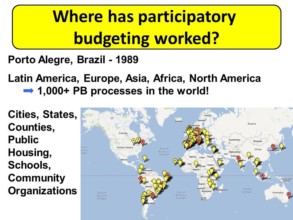Where has participatory