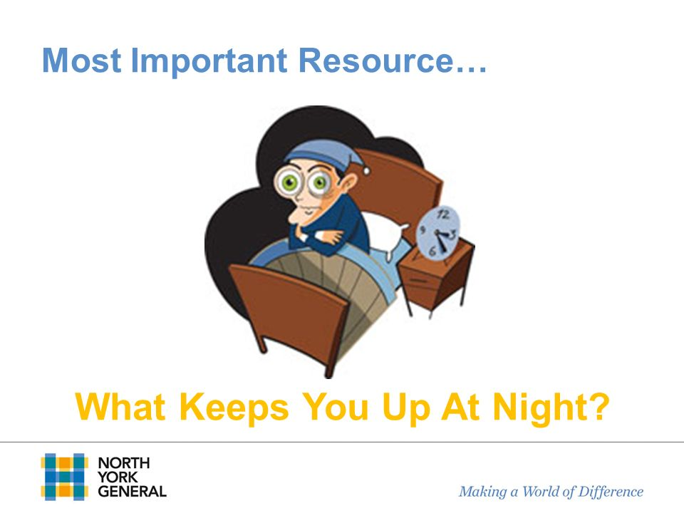 Most Important Resource…