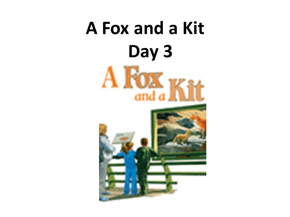A Fox and a Kit Day 3