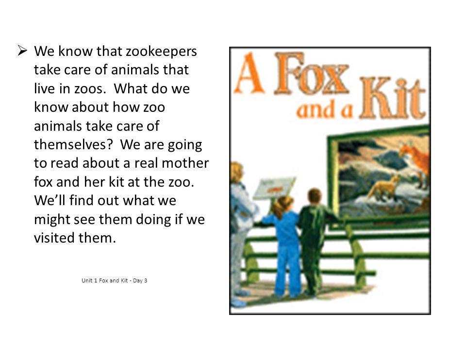We know that zookeepers take care of animals that live in zoos